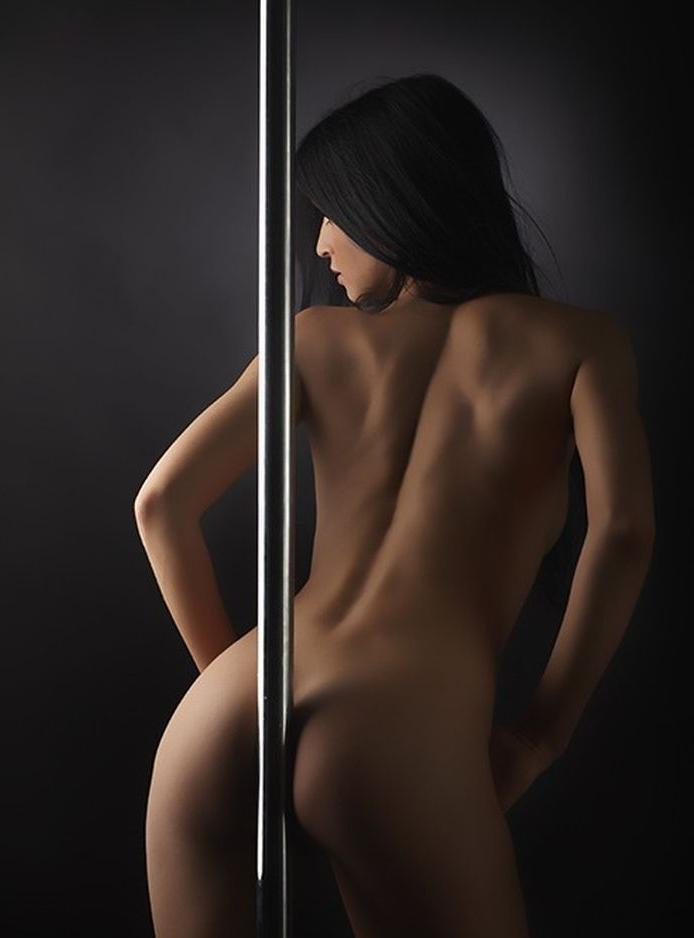 стриптиз красивой телочки - 11